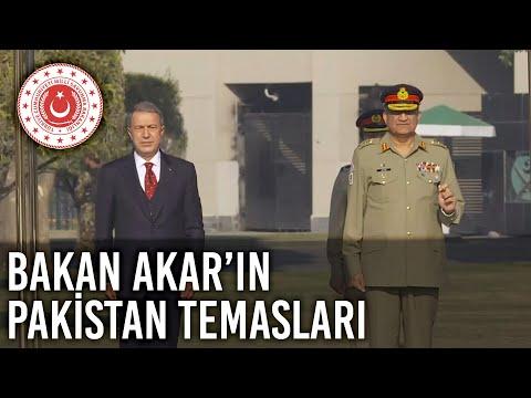 Millî Savunma Bakanı Hulusi Akar'ın Pakistan Temasları