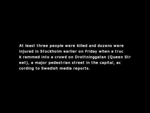 Swedish Police Deny Alleged Truck Attacker Detained in Stockholm