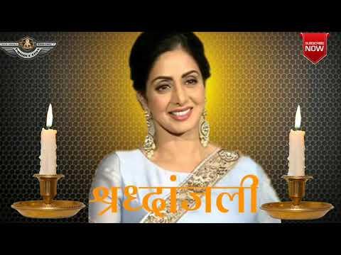 😢😥shridevi  Shradhanjali ! New Special Status ! Shridevi Passed Away ! Shridevi !