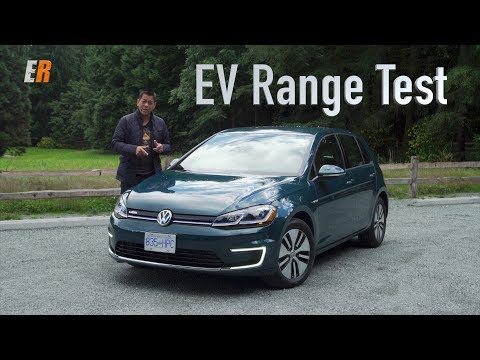 2017 VW e-Golf Real Life Range Test Review