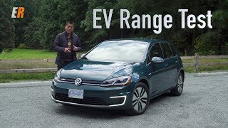 2017 VW e-Golf Real Life Range Test Review