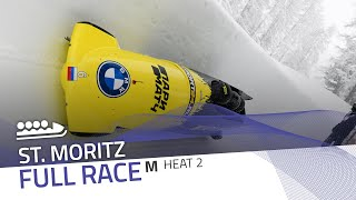 St. Moritz | BMW IBSF World Cup 2020/2021 - 4-Man Bobsleigh Heat 2 | IBSF Official