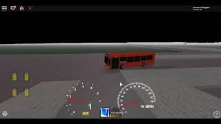 Roblox London Hackney & Limehouse bus Simulator ELC Esteem Dart GAL Route 108 *Blackwall Tunnel*
