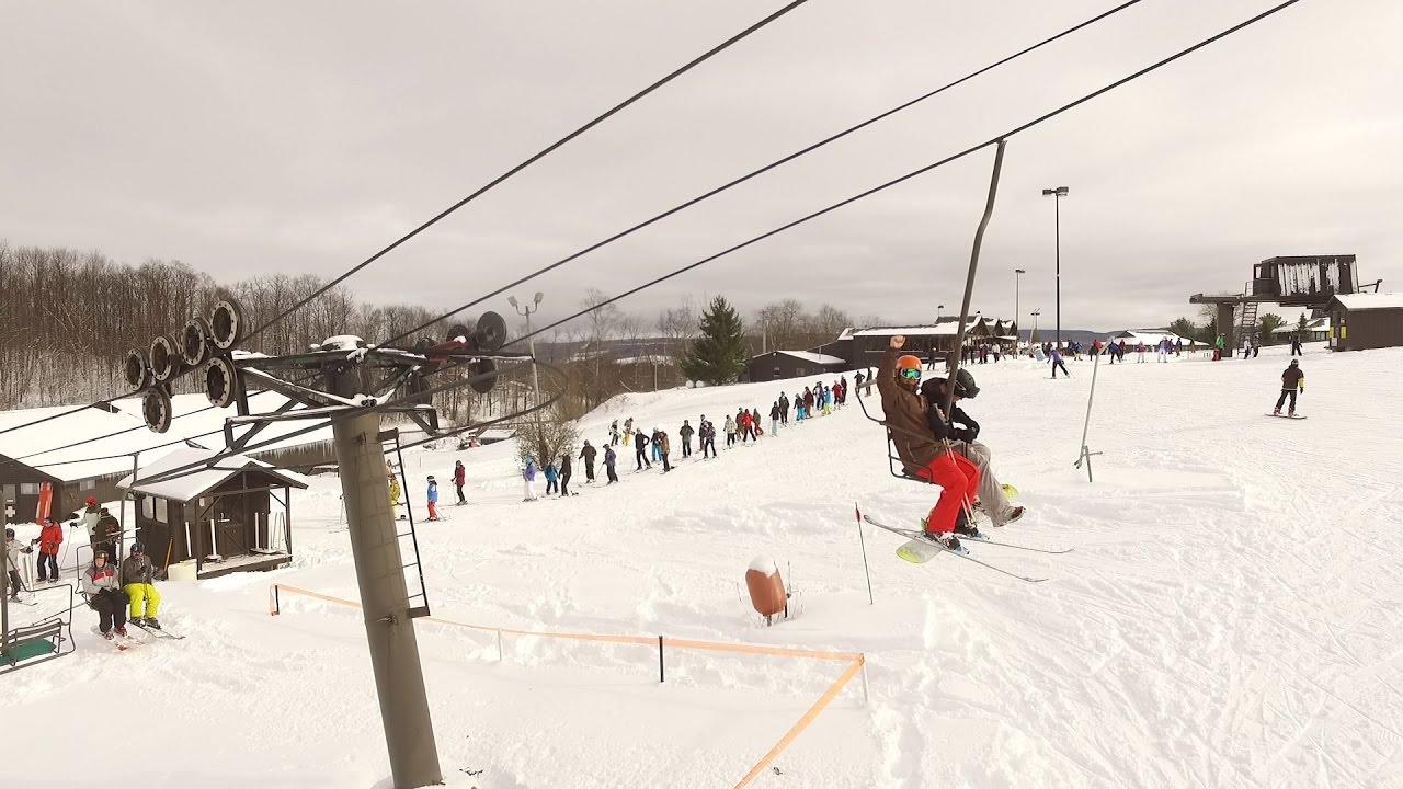 song mountain jumps starts the ski season before thanksgiving - youtube