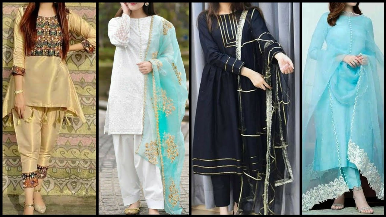 After Wedding Party Dresses In Pakistan/Extra Ordinary Casual Party Dress Designs For Girls 2021