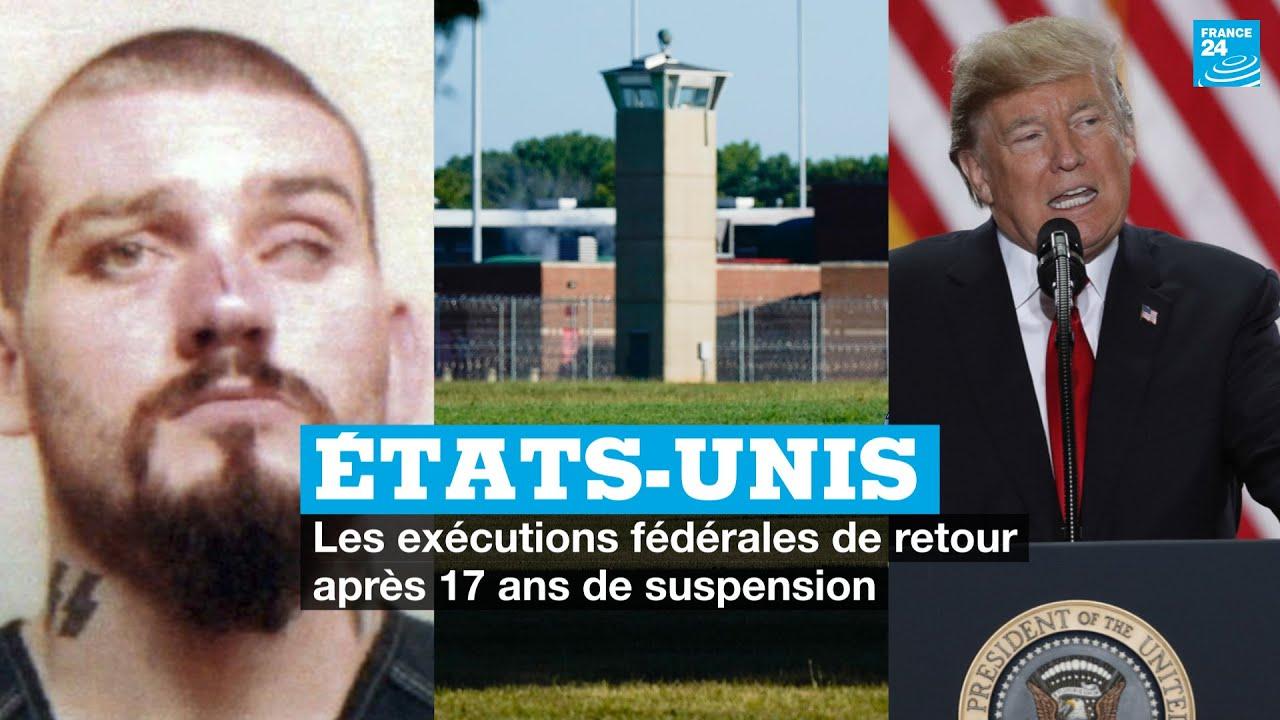 Etats-Unis : ce qu'il faut savoir sur les exécutions fédérales, rétablies après 17 ans de suspension