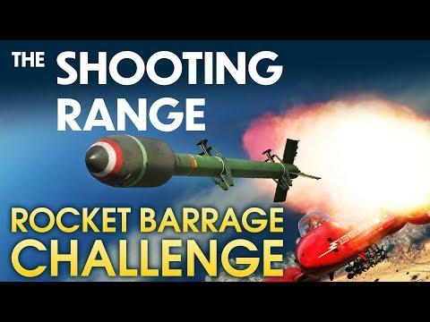 THE SHOOTING RANGE #138: Rocket Barrage Challenge / War Thunder