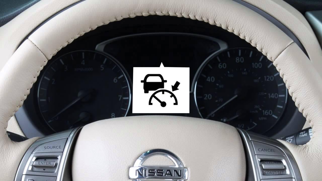 2016 Nissan Altima Intelligent Cruise Control Icc If So
