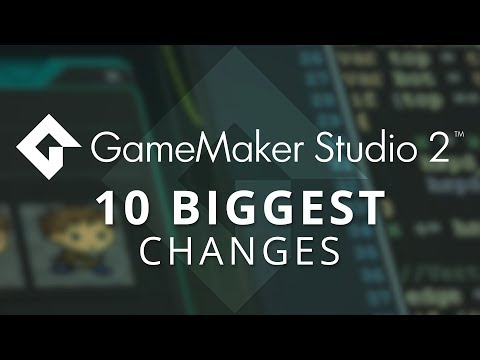 GameMaker Studio 2 Vs GameMaker: Studio 1.x