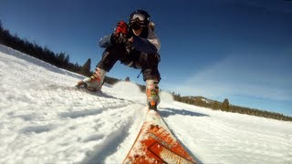 Gambar cover Skiing with Jetpack - Troy Hartman