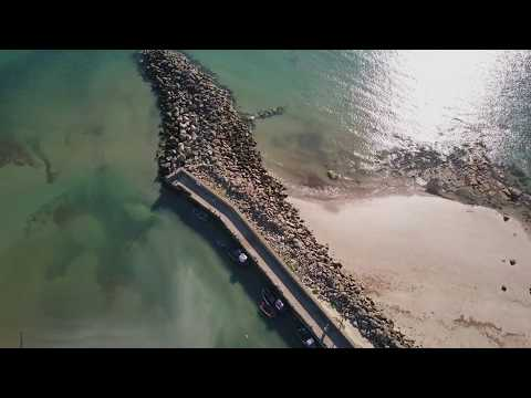 Aerial footage - Carne Beach , Co.Wexford