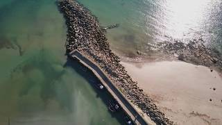 Aerial footage - Carne Beach , Co.Wexford