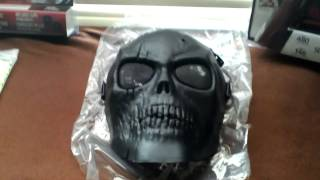 Airsoft skull mask review