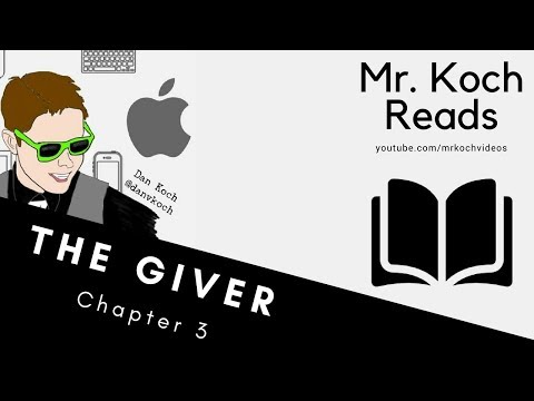 The Giver, Chapter 3 - The Giver, by Lois Lowry, Audio