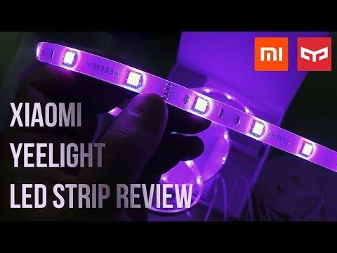 Xiaomi Yeelight Smart LED Strip Light Plus Review | WiFi Controlled Striplight!