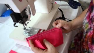 Como fazer costura com debrum ou viés – Marlene Mukai