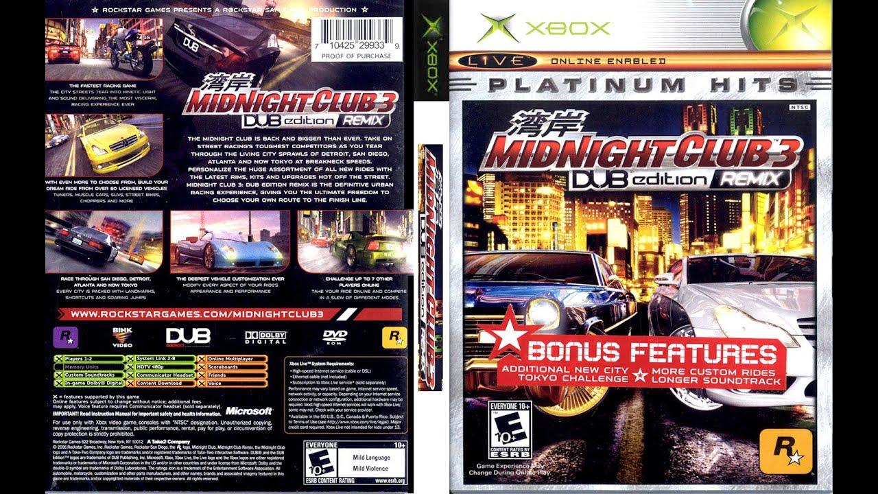 Descargar el juego midnight club 3 para pc
