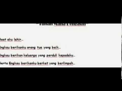 Puisi 'Tuhan Maha Pengasih' by : @citrakawaii748