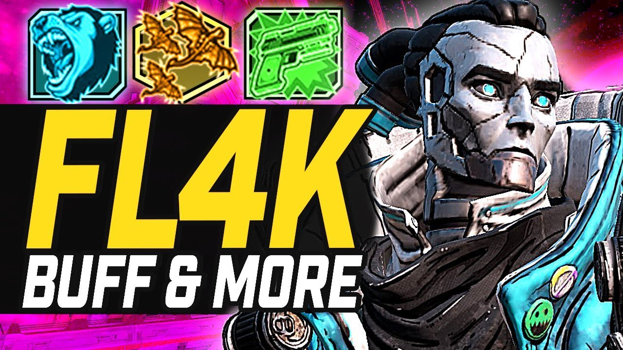 Borderlands 3 | Fl4K Buff, Moze Nerf & Zane Is Utterly Broken (New Patch) thumbnail