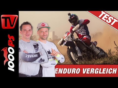Enduro Vergleichstest - Yamaha WR 250F vs Beta RR 350 Racing