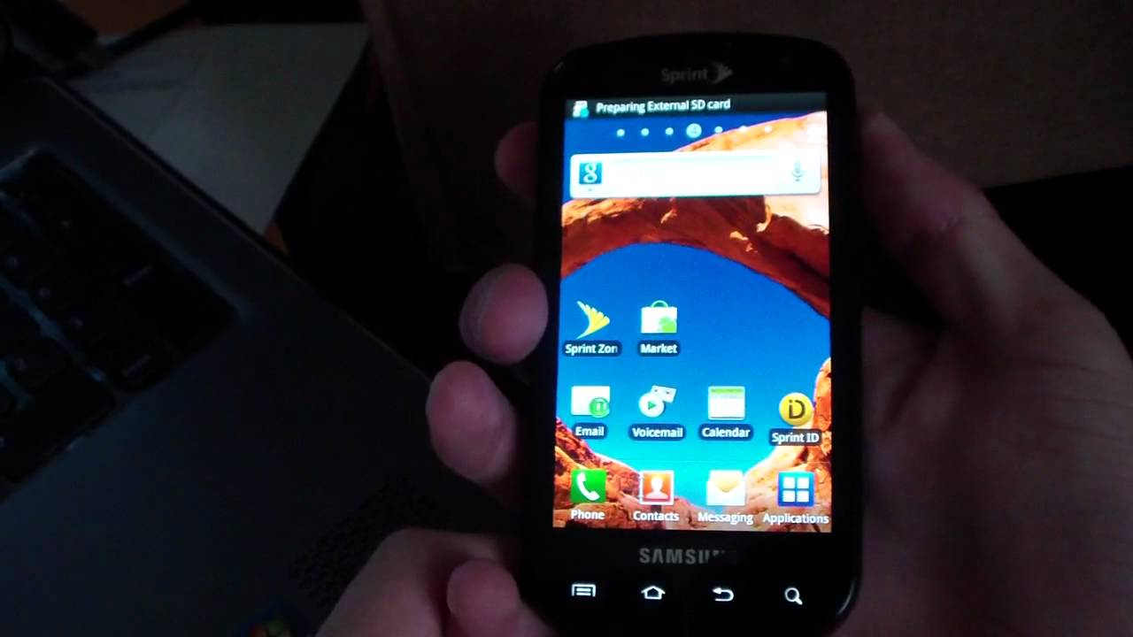 how to manually update to official gingerbread ei22 on the samsung rh youtube com Samsung G Touch Samsung Galaxy 4G