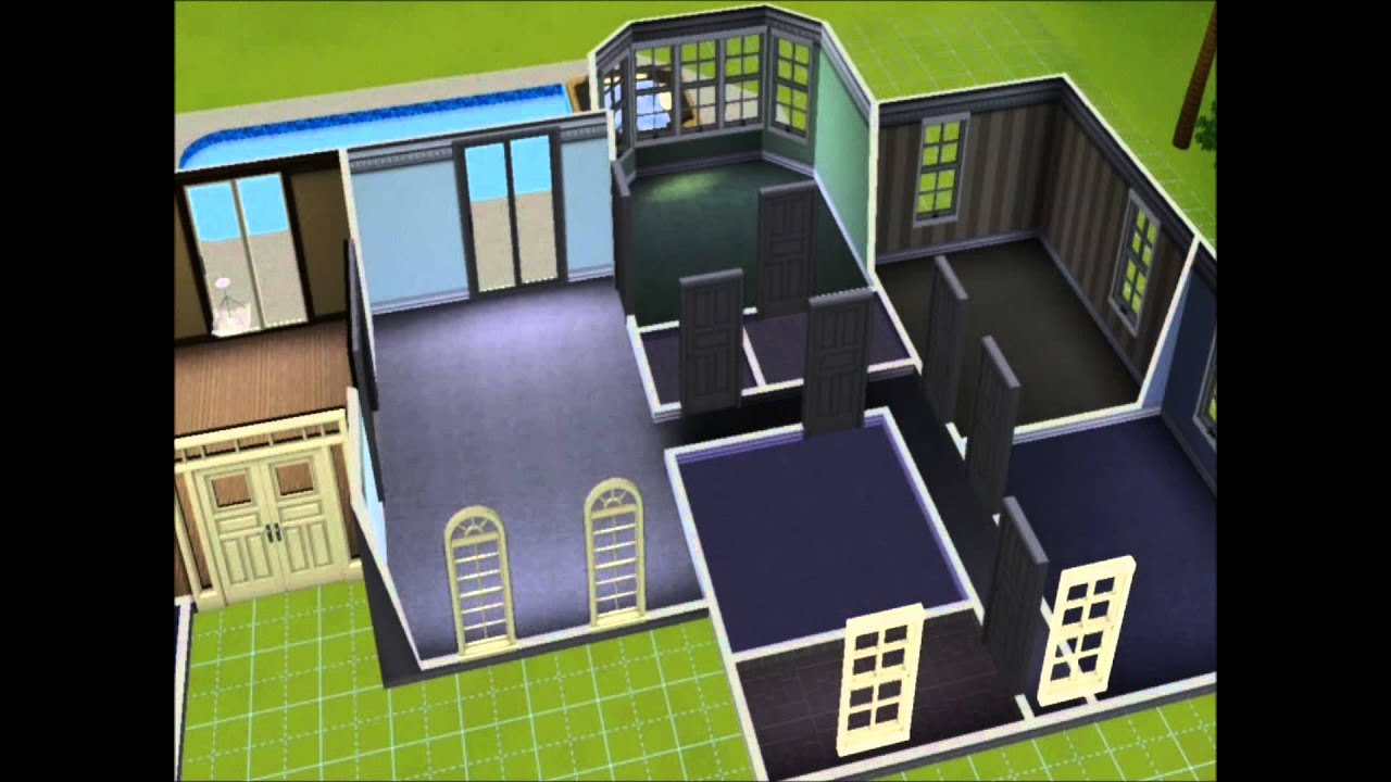 sims 3 single story luxury florida style house build youtube sims 3 single story luxury florida style house build