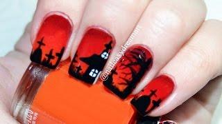 Halloween Nail Art Tutorial   Diy Halloween Nails