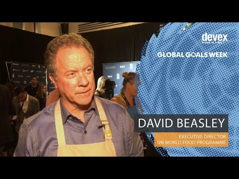 David Beasley, Executive Director of the UN World Food Programme