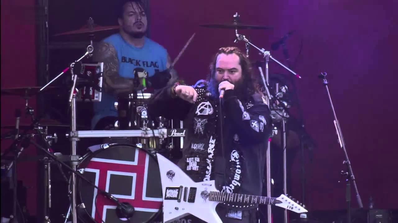 Cavalera Conspiracy - Inflikted (live at Hellfest 2015)