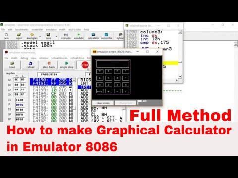 Java 8086 emulator