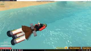 Roblox:Roblox:Pocket Pirates [Alpha] (under water rocket!)