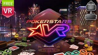 PokerStar VR | First Impression. Best Free Poker Game for VR ever. (Rift & HTC Vive)