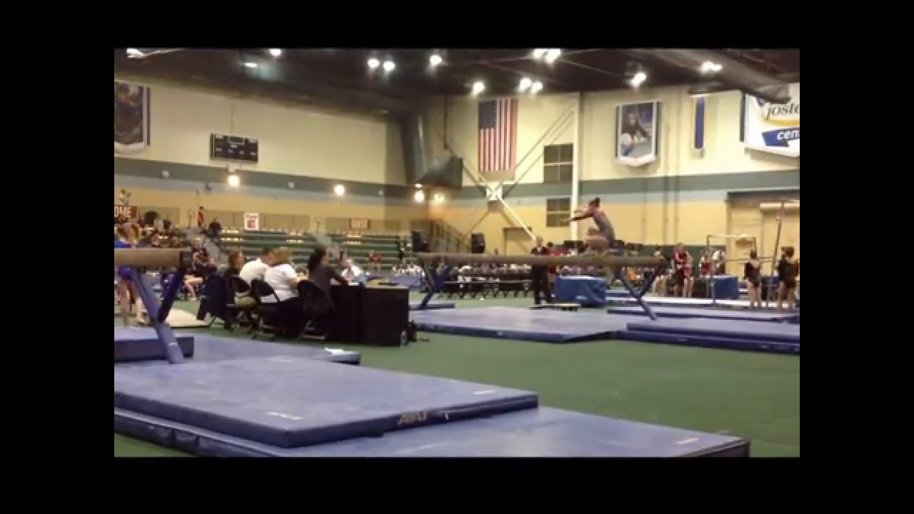 2013 Sand Dollar Whitlow Invitational Madison Doolittle L7 Beam 2nd Place AA 1st - YouTube