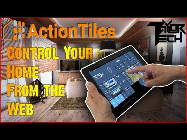 Download ActionTiles SmartThings custom web dashboard maker