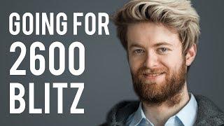 IM Aman Hambleton going for 2600 Blitz on Chess.com