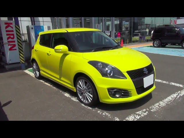 2014 SUZUKI SWIFT Sport - Exterior & Interior - Clip.FAIL
