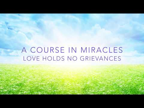 ACIM ~ Love Holds No Grievances ~ A Guided Meditation with Binaural Beats