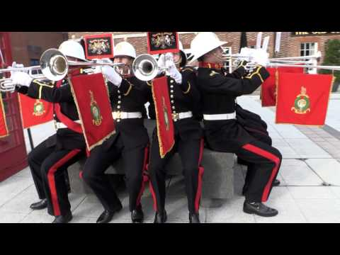 The Royal Navys Christmas video feat. The Band of Her Majestys Royal Marines Portsmouth