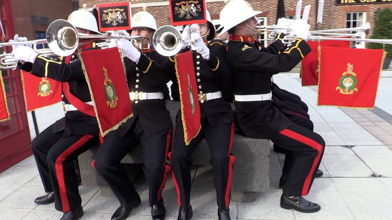 The Royal Navy's Christmas video feat. The Band of Her Majesty's Royal Marines Portsmouth