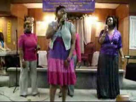 LISA KNOWLES of The Brown Singers & GIC WORK ON ME