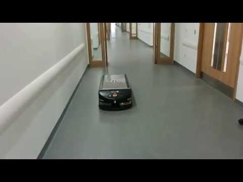Automated transport robots southmead hospital