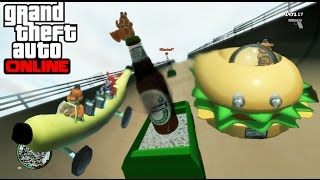 GTA IV Online - LOS COCHES MAS RAROS DEL MUNDO!! XD - NexxuzHD