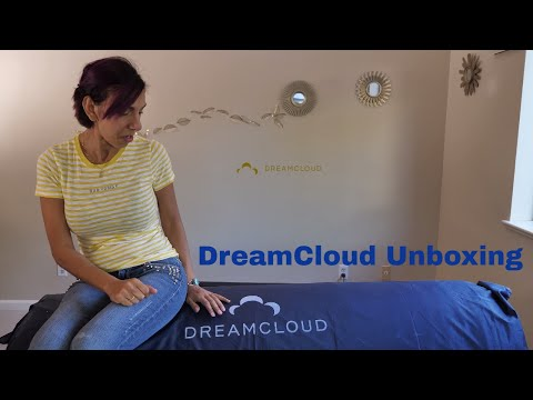 DreamCloud Unboxing, Review & First Impressions