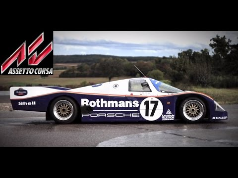 Assetto Online VR: The Porsche 962c