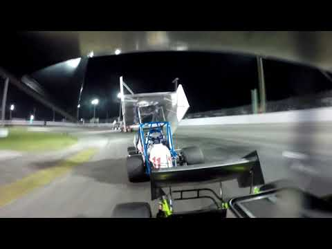 Shane Butler Winged Sprint Cars At Showtime Speedway