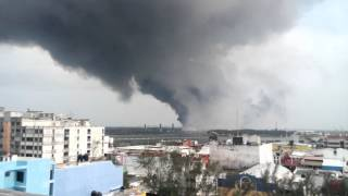Explosión Clorados 3 Coatzacoalcos