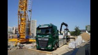 HMF Ladekrane im Einsatz bei Bohnert Transporte: Fünfmal sicherer