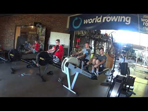 Toowong Rowing Club Correct sequence on the ergo