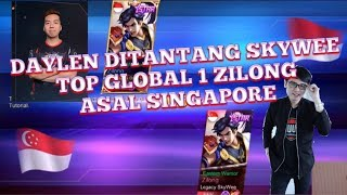 Saints DayLen Vs SKYWEE TOP GLOBAL 1 ZILONG DARI SEASON 3