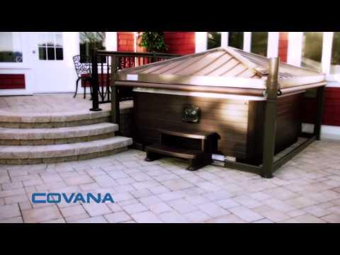 The Covana Hot Tub Cover / Automated Gazebo